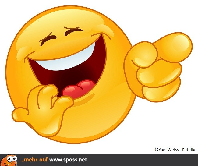 lachender smilie