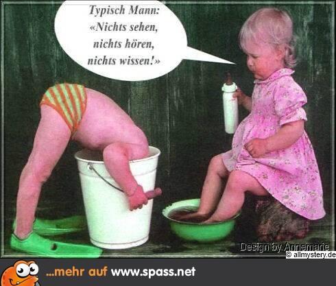 Typisch Mann | Lustige Bilder auf Spass.net