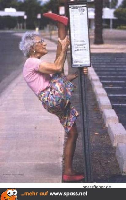 Lustige bilder alte oma