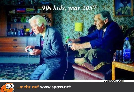 Altersheim Im Jahre 2057 Statt Im Stuhlkreis Ballspiele Machen
