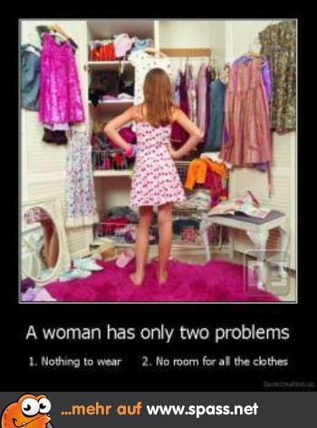Kleiderschrank voll und nichts zum Anziehen