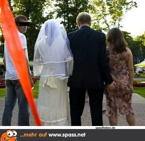 Bräutigam auf Abwegen