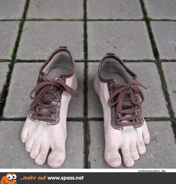 Schuhe Mit Hobbit Feeling Lustige Bilder Auf Spass Net