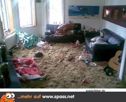 party im wohnzimmer