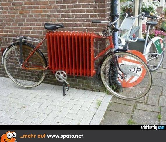 fahrrad heizung
