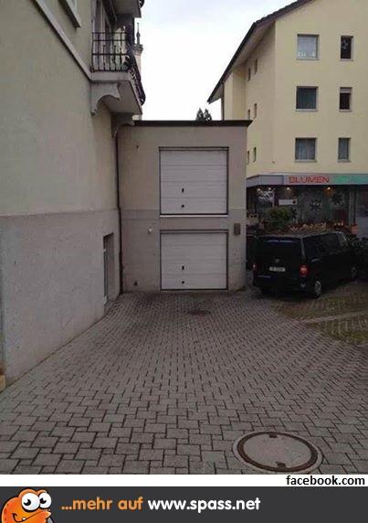 Doppelstock Garage Lustige Bilder Auf Spass Net