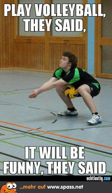 sprüche volleyball lustig