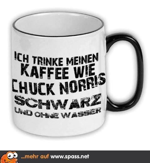 Kaffee à la Chuck...