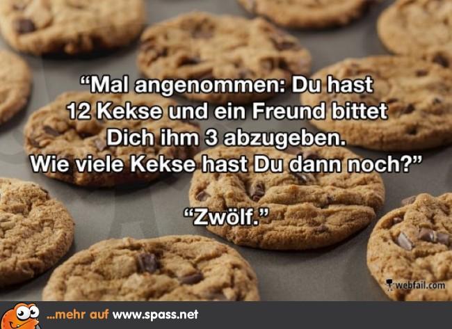 lustige kekse