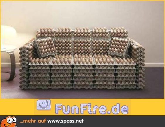 Eier sofa lustige bilder auf for Couch lustig