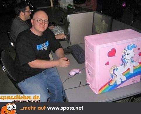 Nerd Pc My Little Pony Lustige Bilder Auf Spassnet