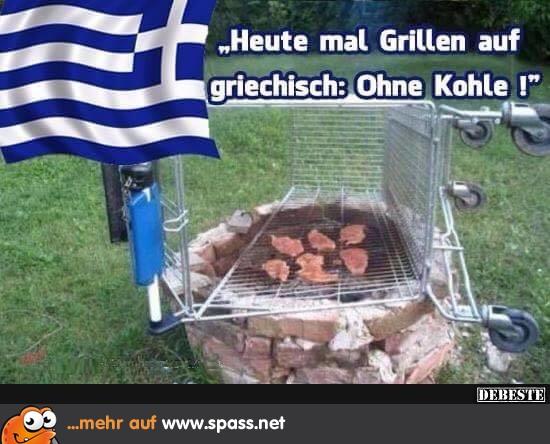 Griechisch Essen Lustig