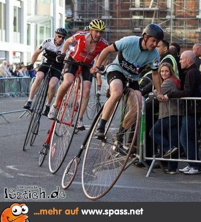 Alte Räder Rennen