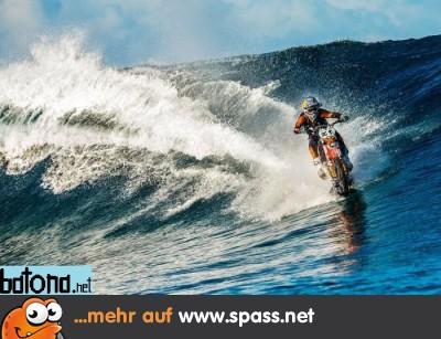Surfen Motorrad