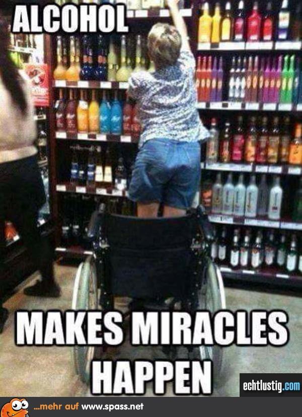 Alkohol bewirkt eben doch wunder lustige bilder auf - Lustige bilder alkohol ...