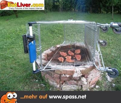 Grill Einkaufswagen