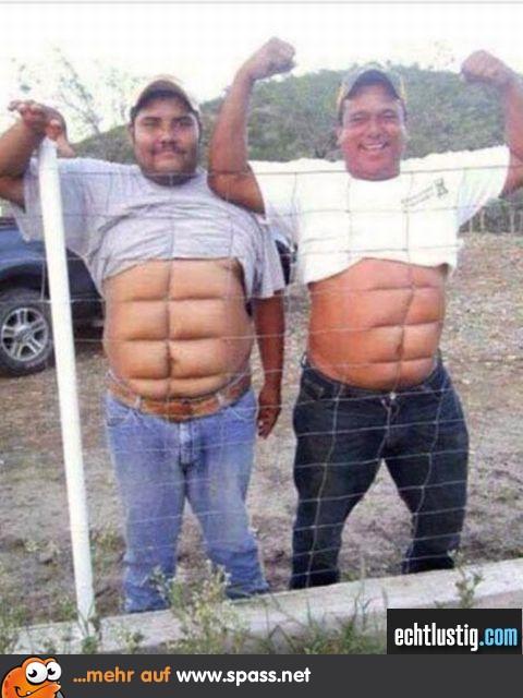 Zwei starke Typen! | Lustige Bilder auf Spass.net