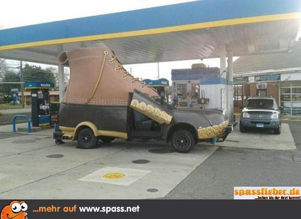 Schuh-Auto