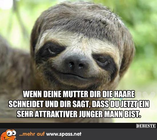 Mutti Hat Dir Die Haare Gemacht Lustige Bilder Auf Spass Net