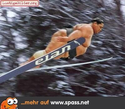 Sumo Ski Springen