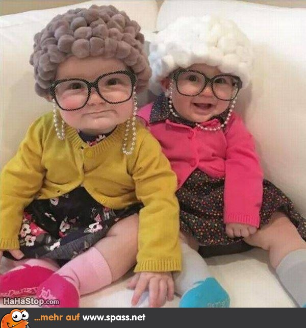 kleine alte Ladys
