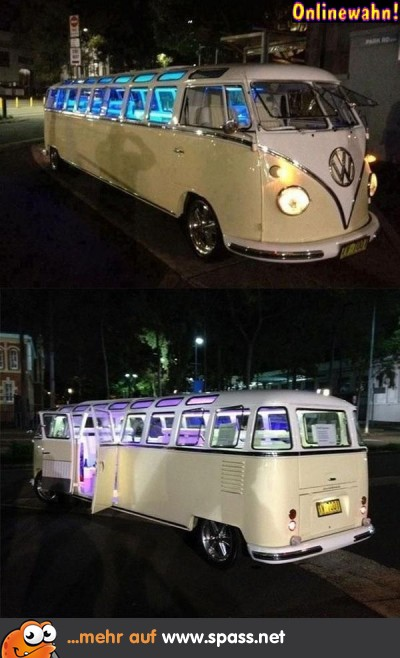 Limousine VW Bus