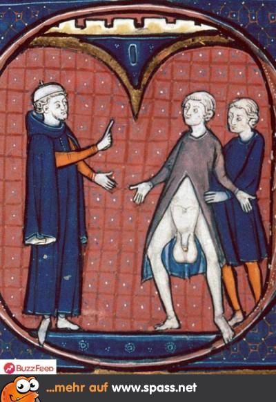 Mittelalter Kunst Sack