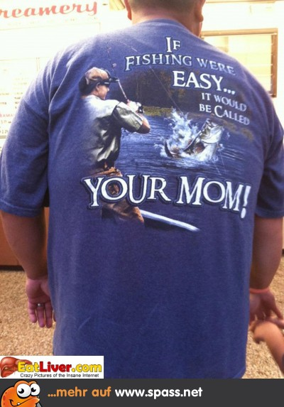 Fischen T-Shirt
