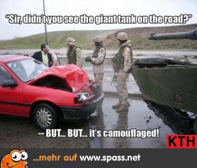 Panzer vs Auto