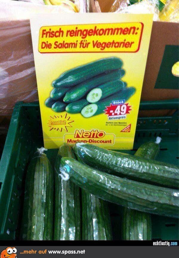 Vegetarier Salami Lustige Bilder Auf Spass Net