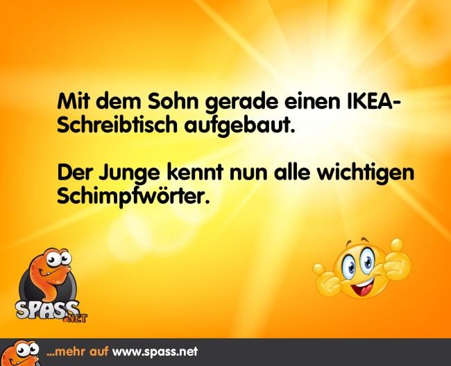 IKEA-Schreibtisch | Lustige Bilder auf Spass.net