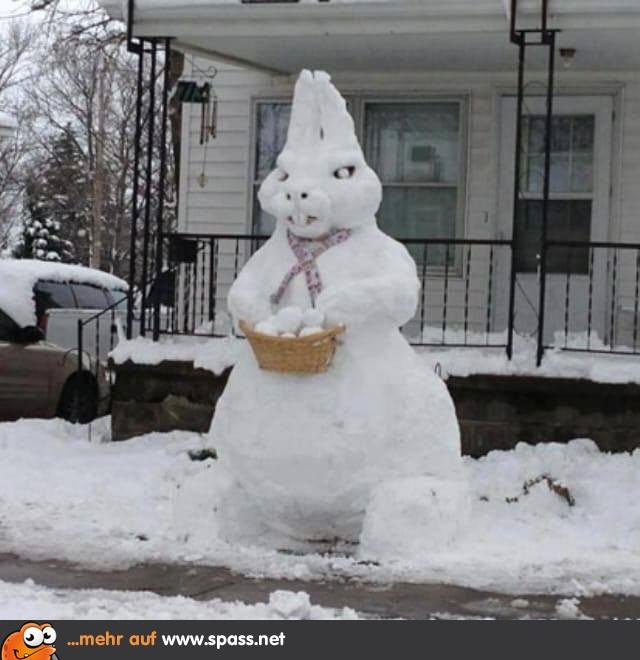 Schnee Lustige Bilder.Schnee Osterhase Lustige Bilder Auf Spass Net