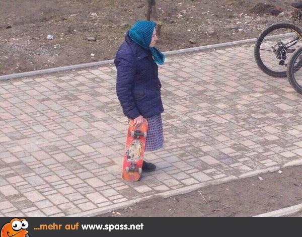 Zum Skaten Ist Man Nie Zu Alt Lustige Bilder Auf Spassnet