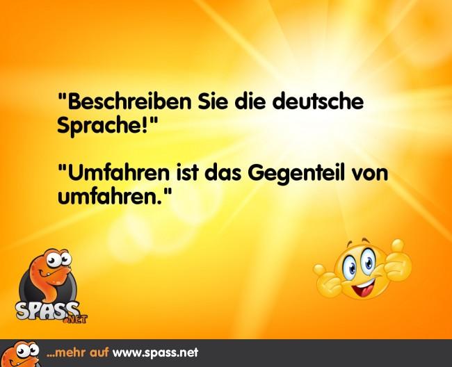 Deutsche Sprache | Lustige Bilder auf Spass.net