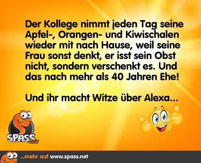 Alexa Werbung Lustig