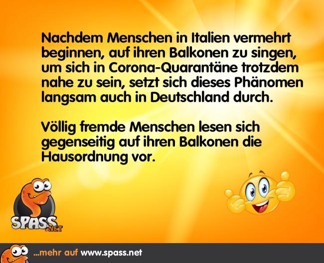 Deutsche Corona-Nähe   Lustige Bilder auf Spass.net